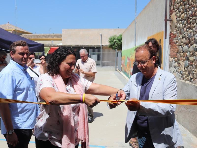 Foto 2 : S'inaugura la caldera de biomassa de Vilobí d'Onyar<br>