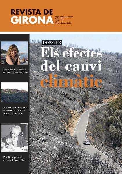 Foto 2 : Presentació del nou número de la Revista de Girona, que surt al carrer amb un dossier sobre els efectes del canvi climàtic