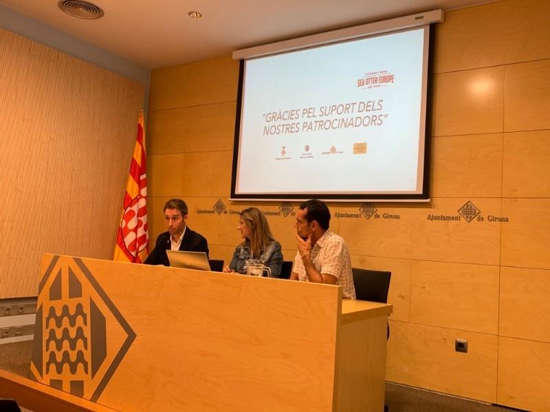 Foto 4: Presentació dels resultats de la 3a edició de la Sea Otter Europe Costa Brava - Girona Bike Show