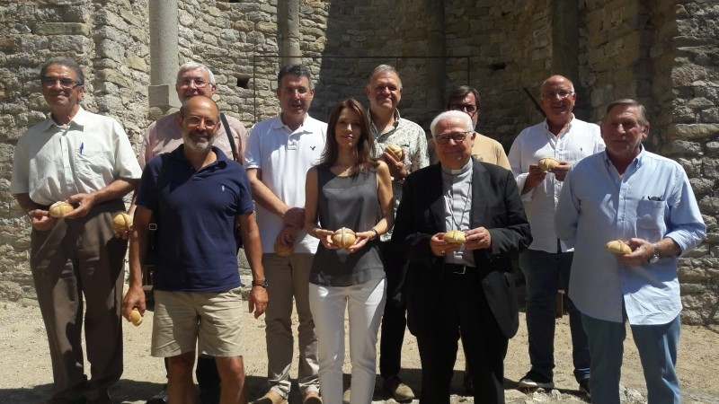 Foto 2 : El president de la Diputació, a la festivitat de Sant Llorenç de Sous