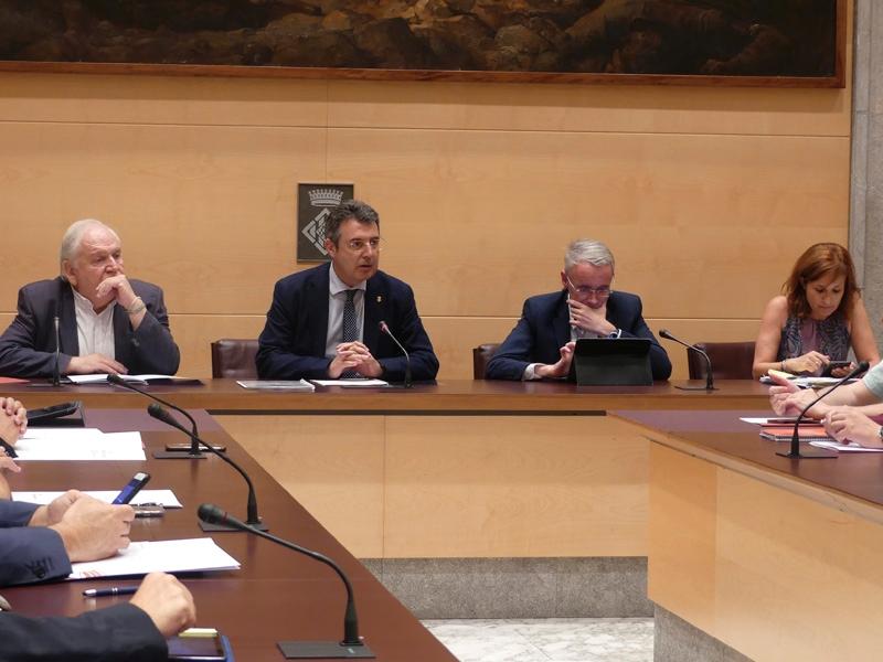 Foto 4: El ple d'actes conclou la legislatura 2015-2019