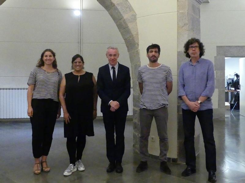 Foto 1 : La desena edició de la Biennal d'Art de Girona premia 'In Limbus Melita' i 'La emancipación del Lord'<br>