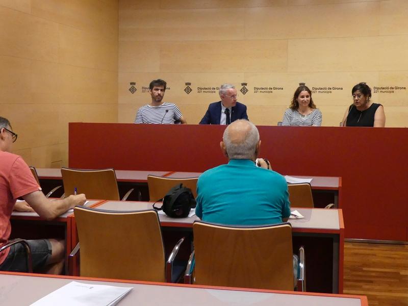 Foto 2 : La desena edició de la Biennal d'Art de Girona premia 'In Limbus Melita' i 'La emancipación del Lord'<br>