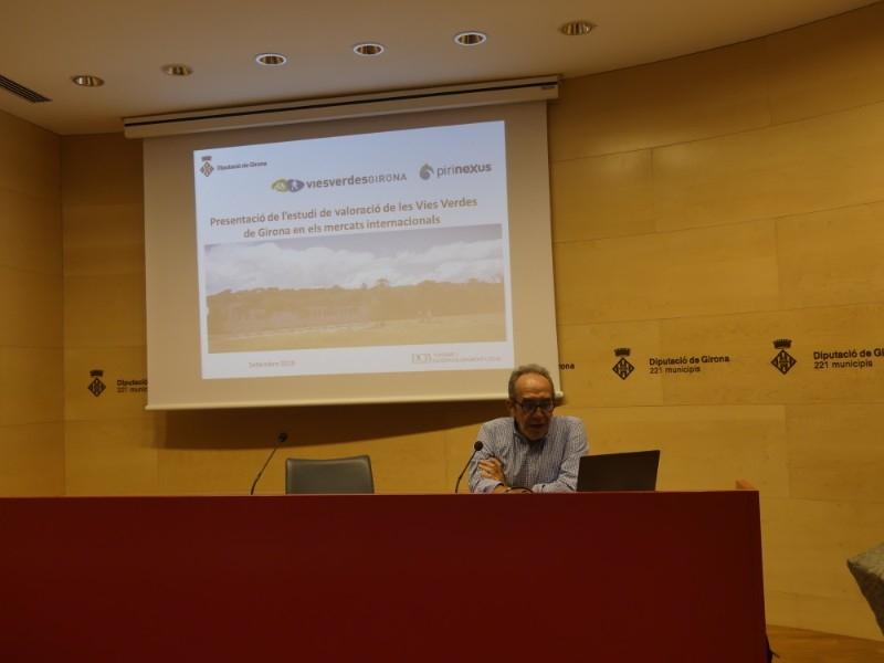 Foto 3 : El Consorci de les Vies Verdes de Girona presenta els resultats del seu estudi de valoració en els mercats internacionals<br>