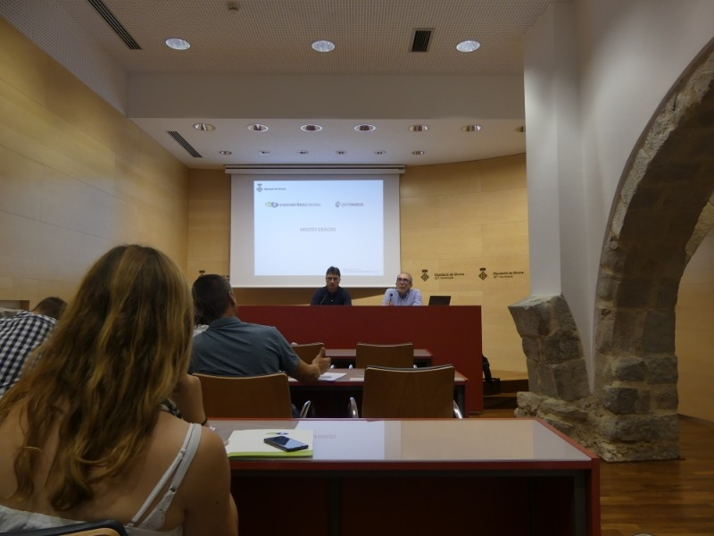 Foto 4: El Consorci de les Vies Verdes de Girona presenta els resultats del seu estudi de valoració en els mercats internacionals<br>