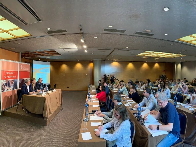 Foto 3 : «Gestió municipal de l'aigua», tercera jornada formativa del seminari organitzat per XALOC<br>