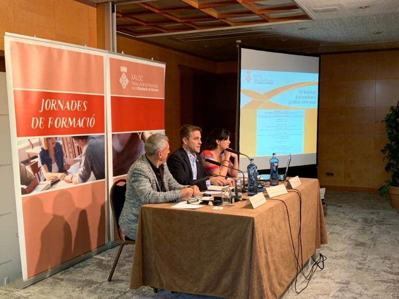 Foto 1 : La cinquena sessió del VII Seminari de XALOC ha tractat sobre la contractació pública i el procediment administratiu<br>