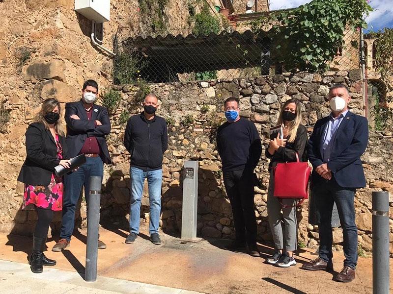 Foto : <p>El vicepresident Pau Presas visita el Far d'Empordà i Lladó i es reuneix amb els alcaldes</p>