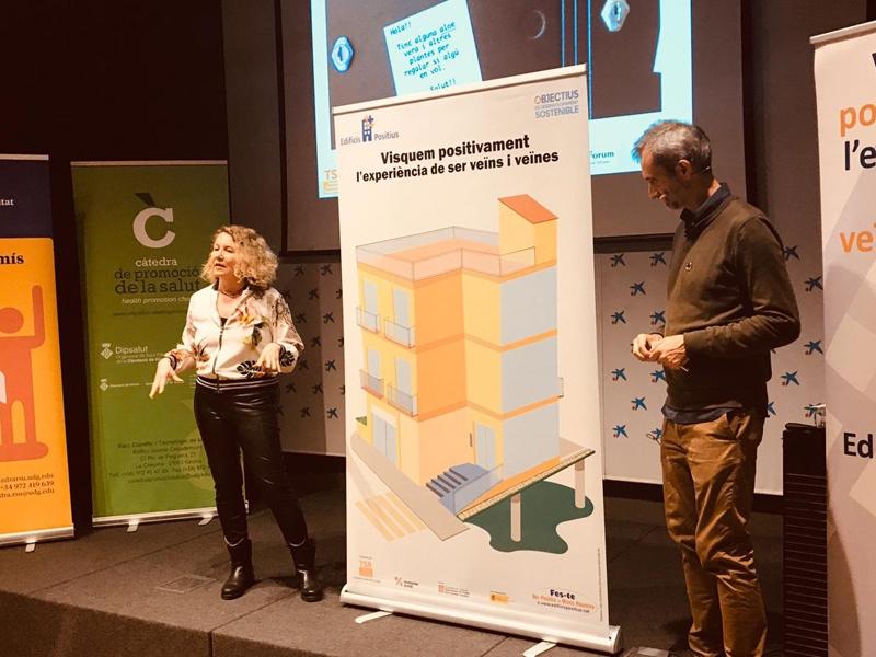 Foto 3 : <p>La iniciativa &laquo;Edificis positius&raquo; arriba a les comarques gironines</p>