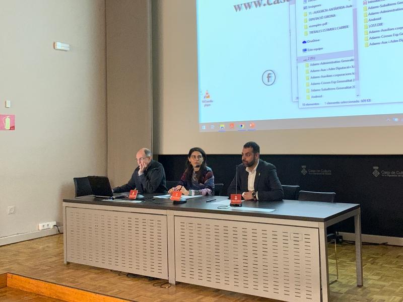 Foto : La Diputació de Girona dona a conèixer quatre dels seus serveis als municipis gironins
