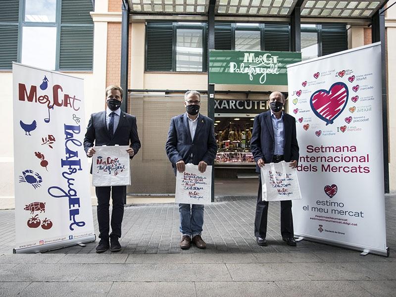 Foto : <p>La setena edició de la Setmana Internacional dels Mercats arriba a les comarques gironines amb el lema «Compra responsable, compra sostenible»</p>