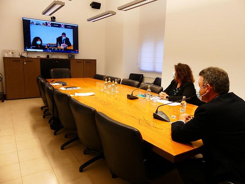 Foto : <p>Els presidents de la Diputació de Girona i la Diputació de Barcelona anuncien noves mesures per regular els accessos al Parc Natural del Montseny</p>