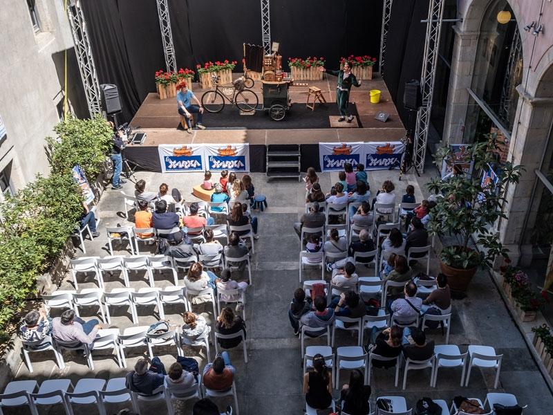 Foto : <p>El Pati Cultural retornarà el 2021 amb una edició molt especial</p>