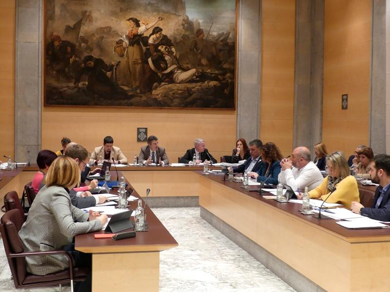 Foto : <p>La Diputaci&oacute; de Girona aprova un expedient de cr&egrave;dit extraordinari per pal&middot;liar els efectes del temporal Gloria</p>