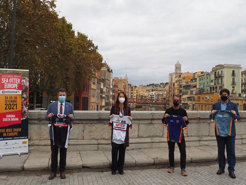 Foto : La Diputació manté el seu suport a la Sea Otter Europe Costa Brava-Girona Bike Show, que es trasllada a la tardor