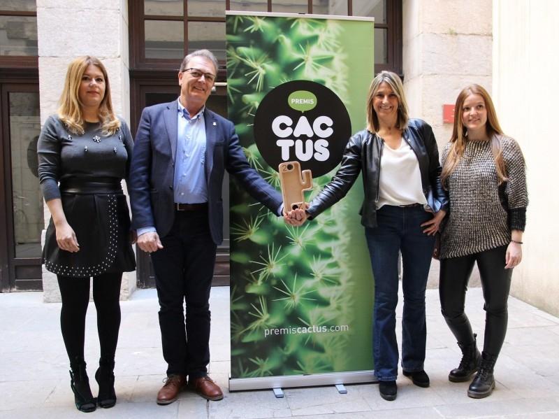 Foto : La Diputació de Girona reafirma la seva col·laboració amb els premis Cactus