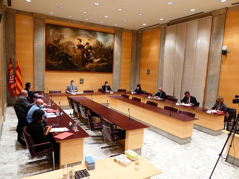 Foto : <p>La Taula per a la Reactivació Econòmica i Social de la demarcació de Girona es constitueix a la Diputació</p>