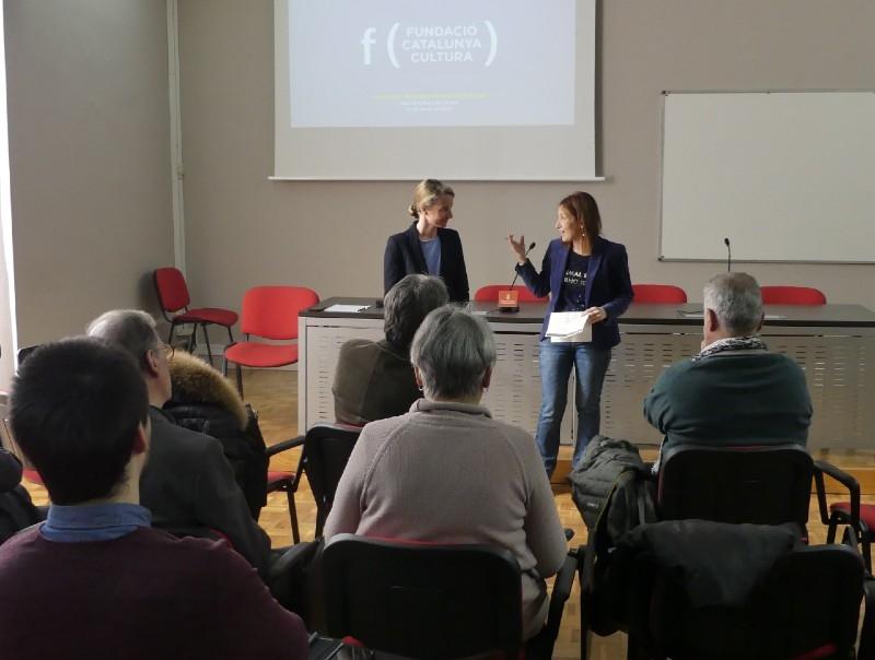 Foto : Es presenta a Girona una nova edició del Programa Impulsa Cultura