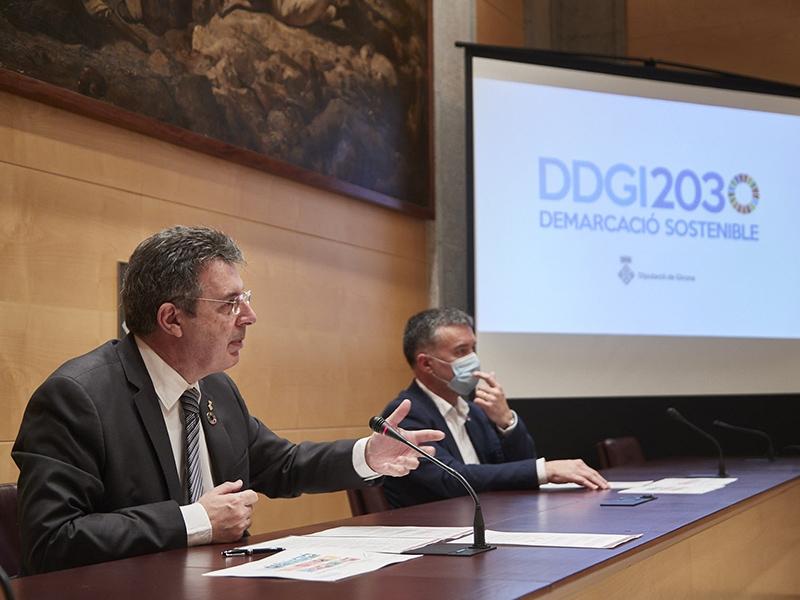 Foto : La Diputació de Girona genera 2.654 impactes positius que contribueixen a l'assoliment dels objectius de desenvolupam