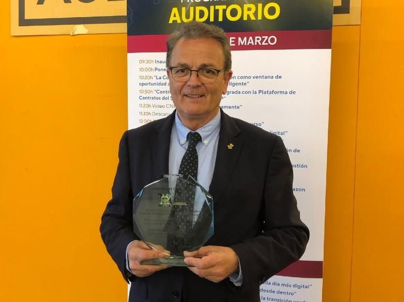 Foto : La Diputació de Girona rep un guardó en la desena edició dels premis CNIS, a Madrid