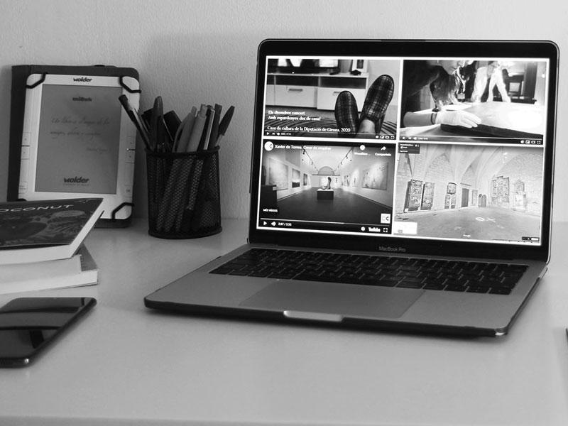 Foto : <p>Neix Cultura Virtual, un espai en línia que agrupa les iniciatives culturals de les comarques gironines</p>