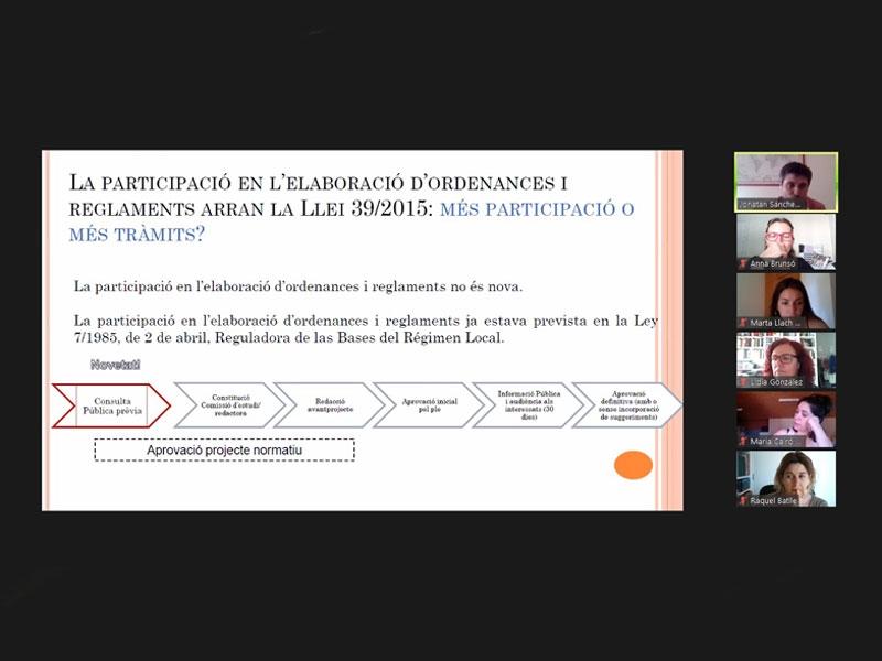 Foto : <p>El Curs de reglament de participació i consulta pública prèvia incideix en el nou marc de relacions entre l'Administració i la ciutadania</p>