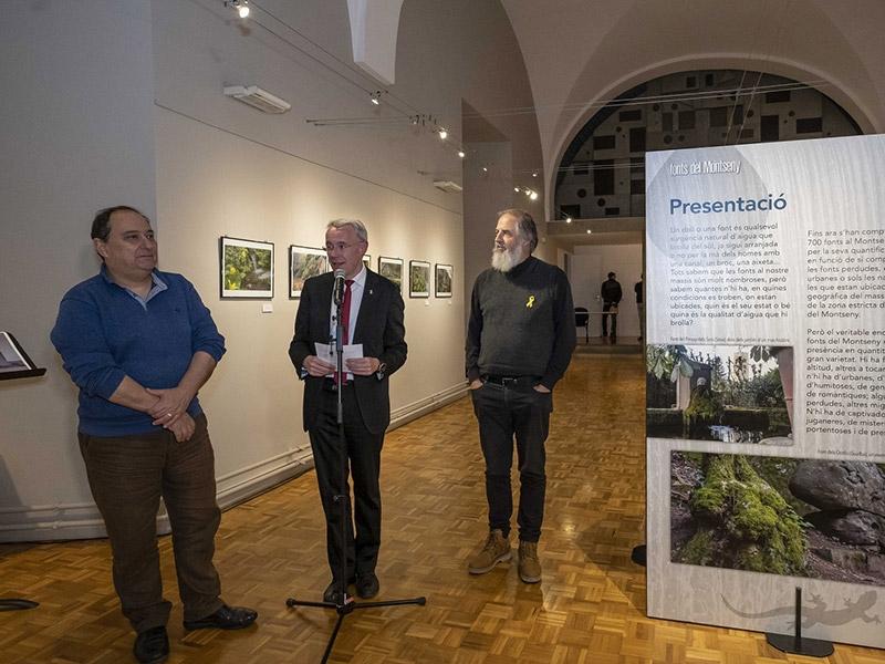Foto : <p>La Casa de Cultura de la Diputaci&oacute; de Girona mostra en format exposici&oacute; un projecte de recerca i documentaci&oacute; sobre les fonts del Montseny</p>
