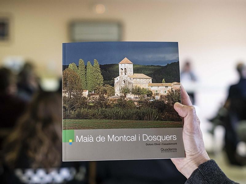 Foto 2 : <p>Presentaci&oacute; d&#39;una nova monografia dels &laquo;Quaderns de la Revista de Girona&raquo; dedicada a Mai&agrave; de Montcal i Dosquers</p>