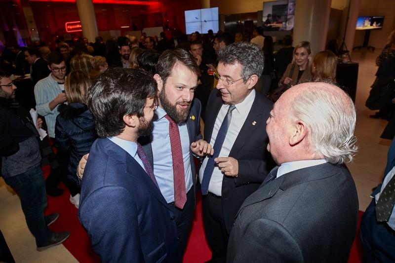 Foto 5: <p>Reconeixement a cinc entitats gironines en la 23a Festa de l&rsquo;Esport Catal&agrave;</p>