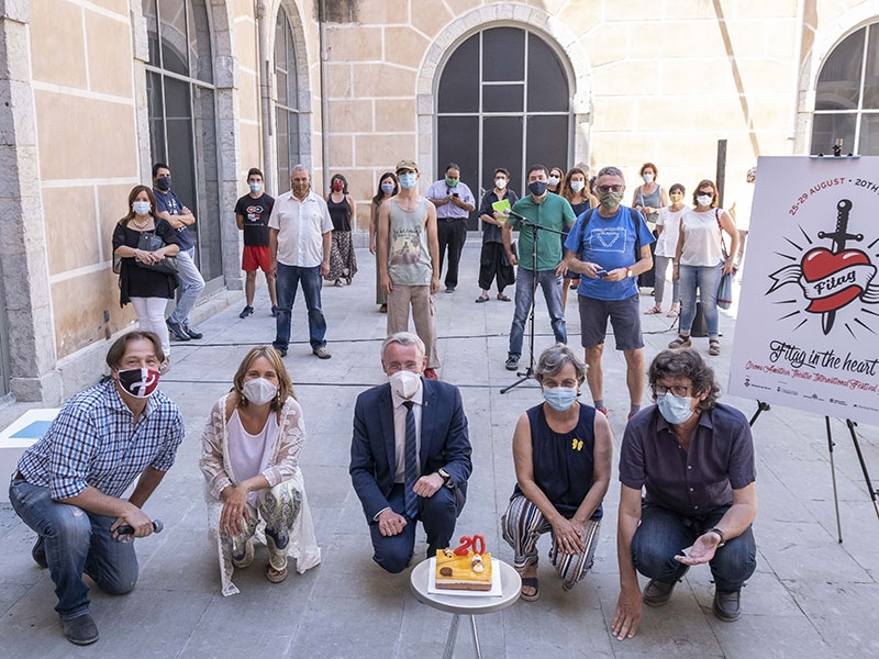 Foto : <p>El FITAG 2020, amb vint-i-set grups en escena, tornarà a convertir Girona i sis municipis més en el gran escenari del teatre amateur</p>