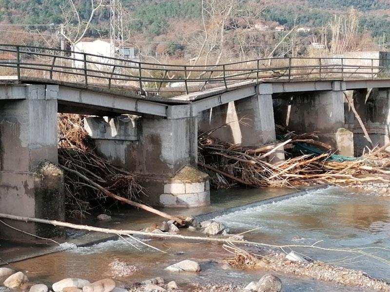 Foto : <p>La Diputació de Girona destina prop de cinc milions d'euros a pal·liar els efectes del temporal Gloria</p>