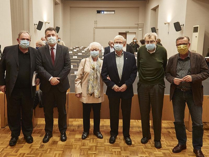 Foto : <p>Presentació del llibre <em>Jo també hi era</em>, les memòries polítiques de Joan Vidal i Gayolà</p>