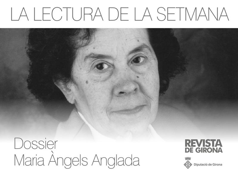 Foto : <p>Commemoració dels noranta anys del naixement de M. Àngels Anglada</p>