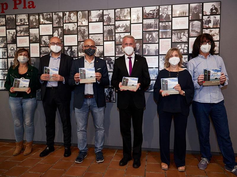 Foto : <p>«Quaderns de la Revista de Girona» presenta la guia <em>Espais literaris</em></p>