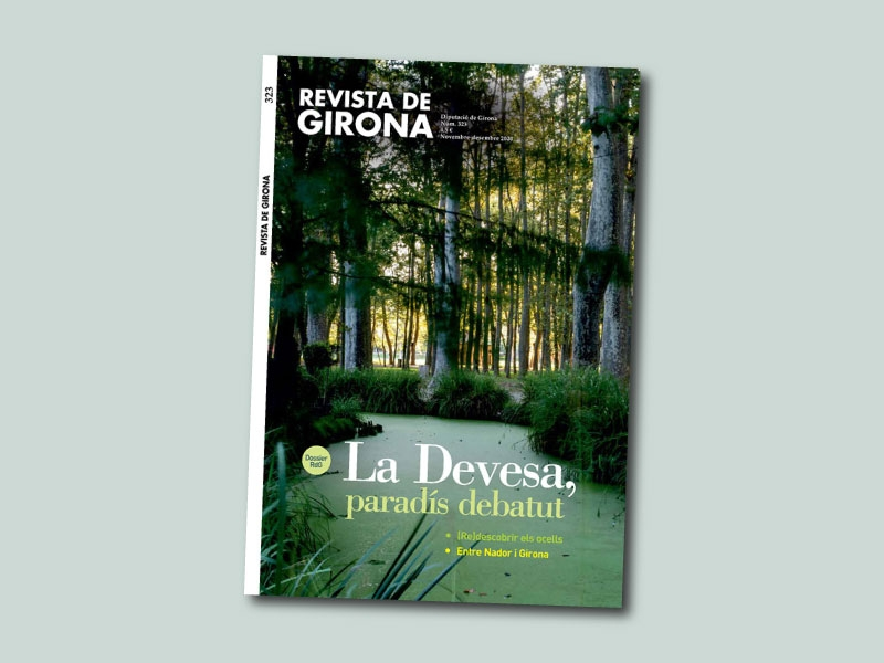 Foto : La Revista de Girona presenta un nou número dedicat a la Devesa com a paradís debatut
