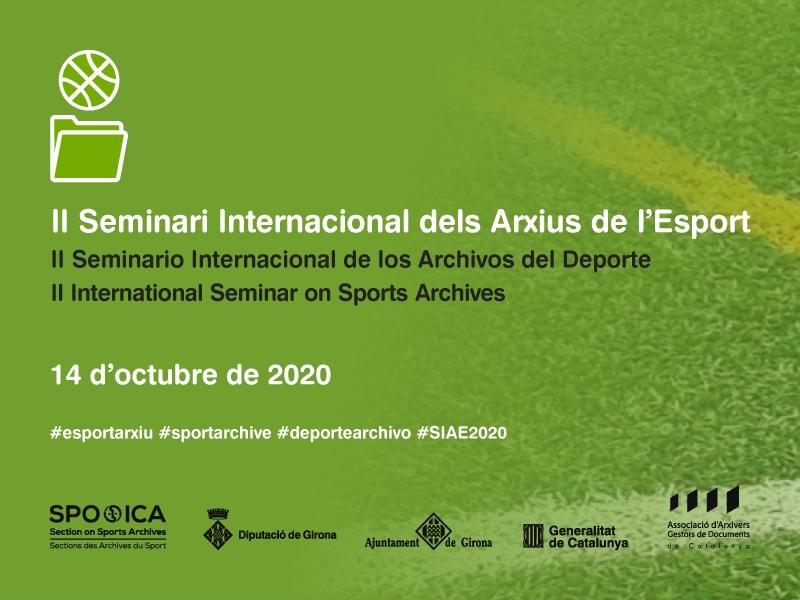 Foto : Més de cent persones segueixen el II Seminari Internacional dels Arxius de l'Esport