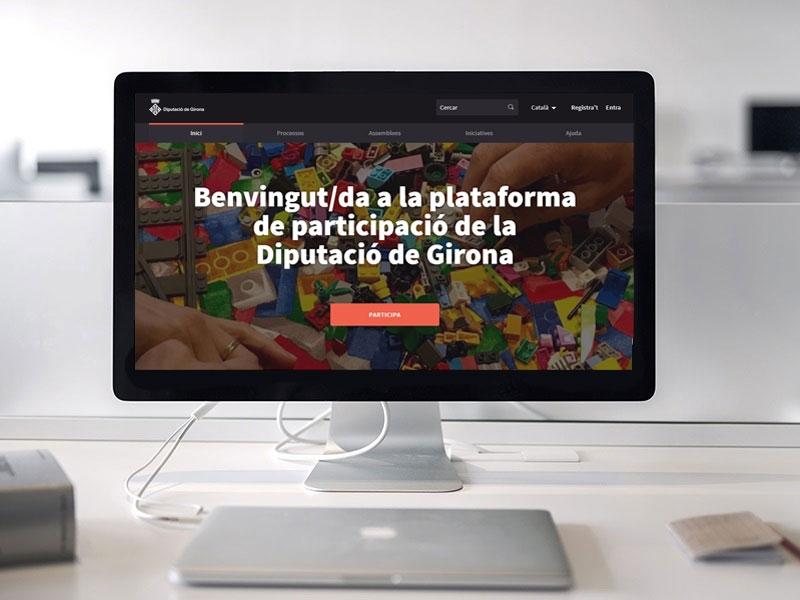 Foto : Onze municipis gironins estrenen Decidim, la plataforma digital de participació ciutadana de la Diputació de Girona</