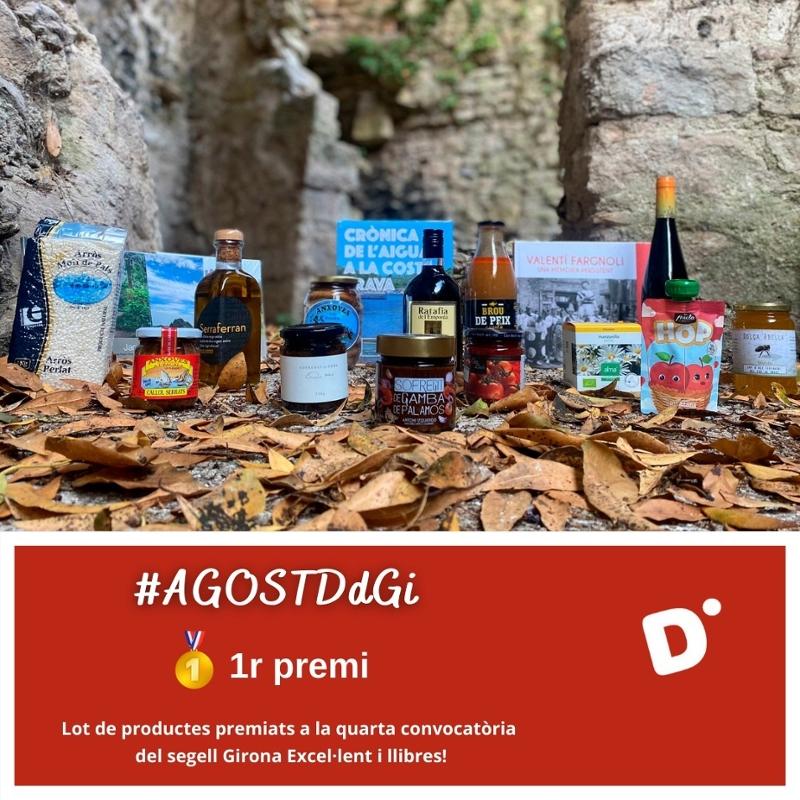 Foto : La Diputació de Girona convoca el quart concurs de Twitter #AgostDdGI