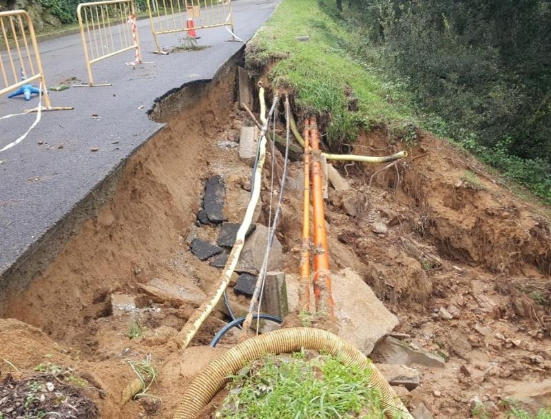 Foto : La Diputació finança desperfectes per causes meteorològiques en deu municipis gironins per valor de 432.256,60 euros<
