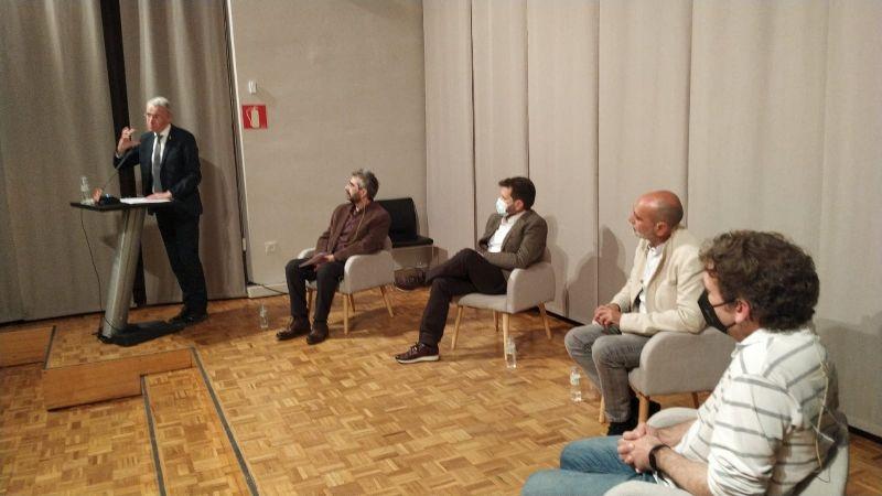 Foto : Es presenta el CD Records i somnis, el primer enregistrament de l'obra integral per a veu i piano del compos