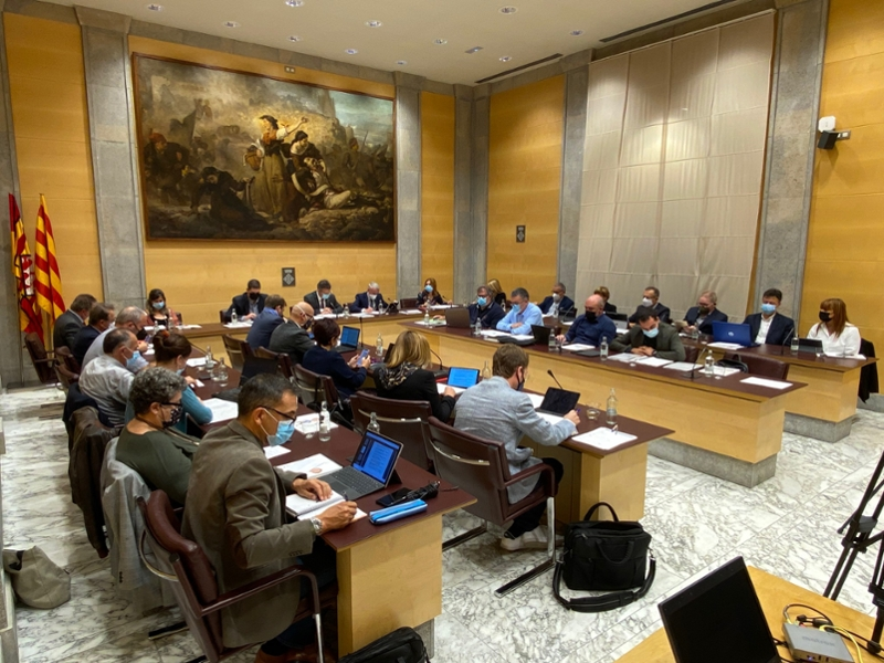Foto : La Diputació de Girona aprova diverses bases reguladores de subvencions del Servei de Cooperació Cultural