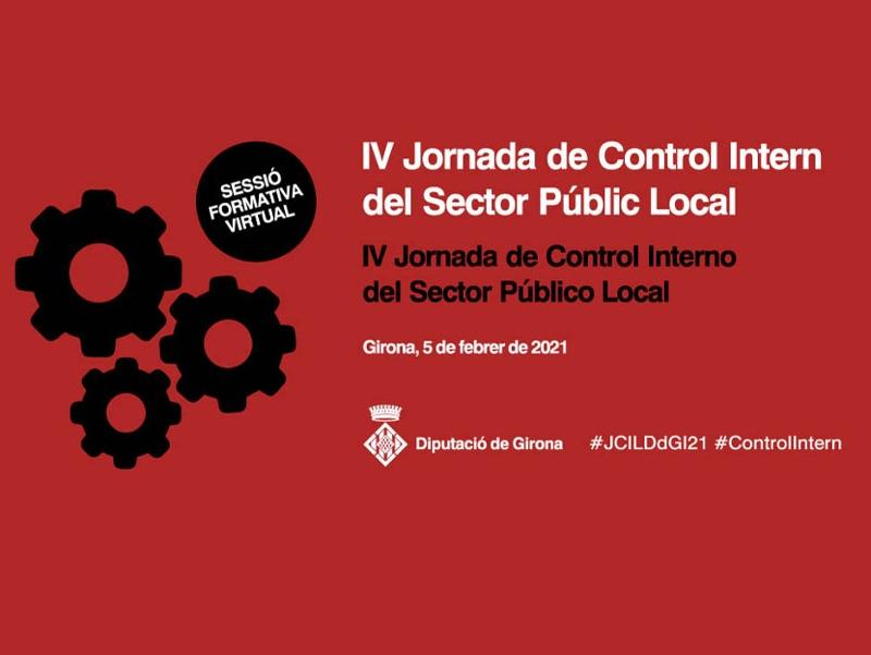 Foto : La IV Jornada de Control Intern del Sector Públic Local de la Diputació de Girona es fa en format virtual i s'expande