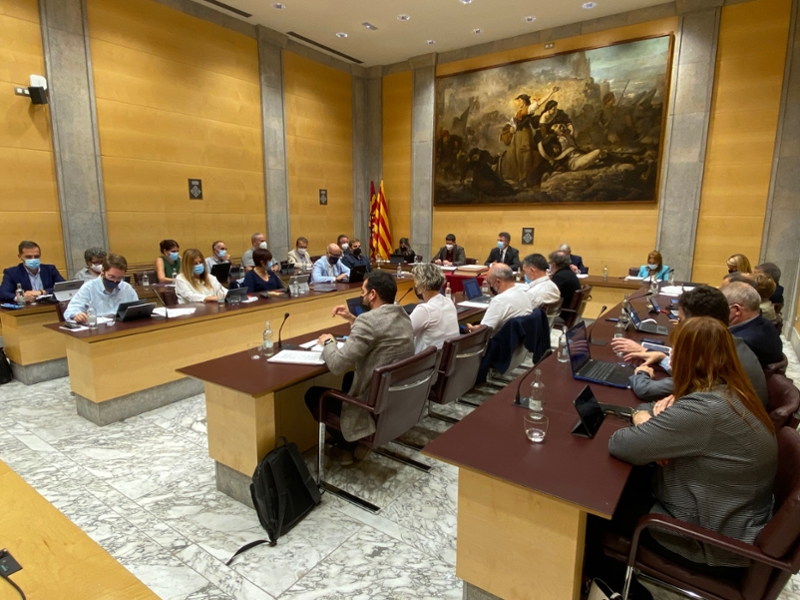 Foto : La Diputació de Girona aprova tres projectes de millora de la xarxa viària per valor de més de tres milions d'euros</
