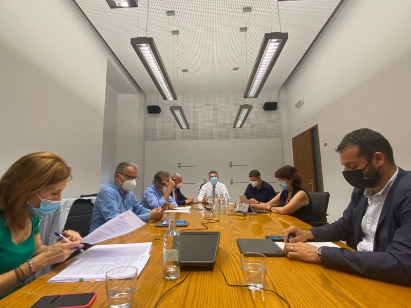 Foto : El Ple de la Diputació aprova destinar més de mig milió d'euros a polítiques mediambientals i de transició energètica