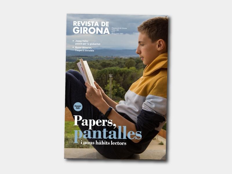 Foto : La Revista de Girona publica un nou número, dedicat a les pantalles i els nous hàbits lectors