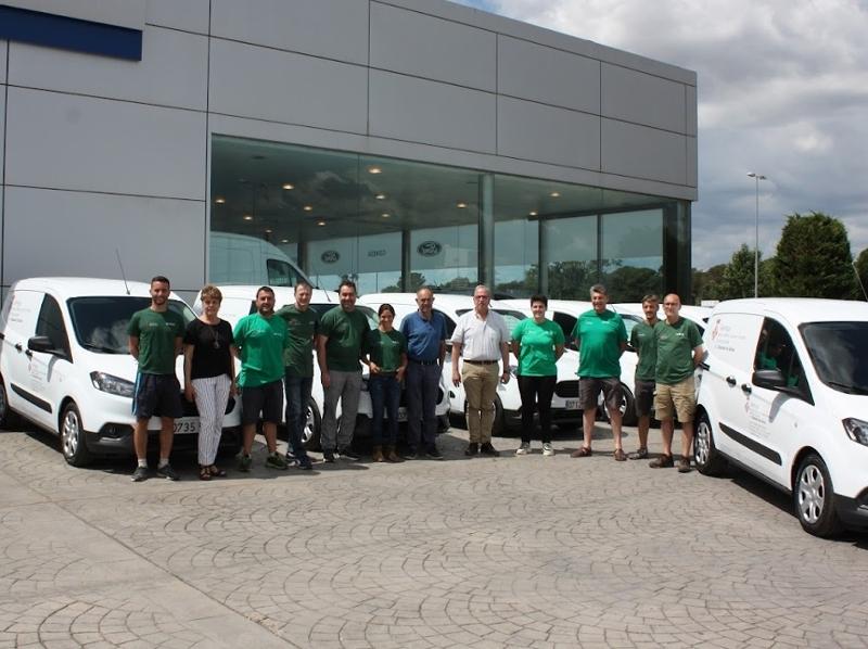 Foto : Semega adquireix nou furgonetes per als seus controladors lleters a les comarques gironines