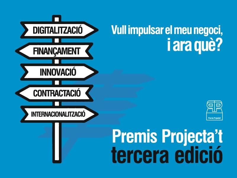 Foto : La Diputació de Girona convoca la tercera edició dels premis Projecta't