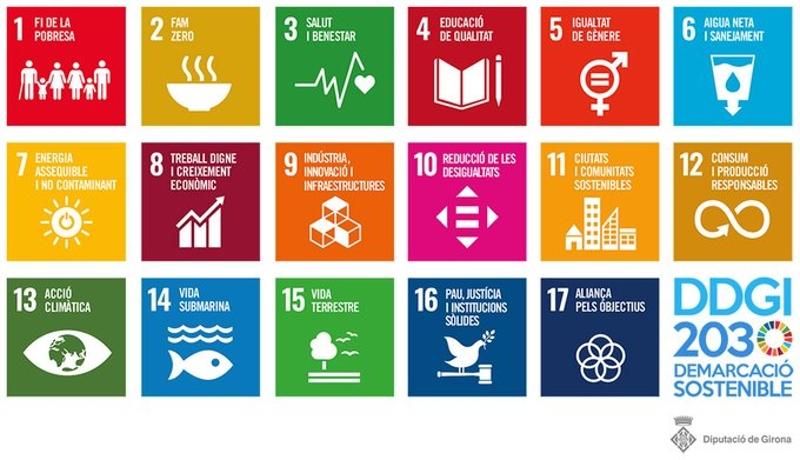Foto : Els objectius de desenvolupament sostenible (ODS) arriben als instituts