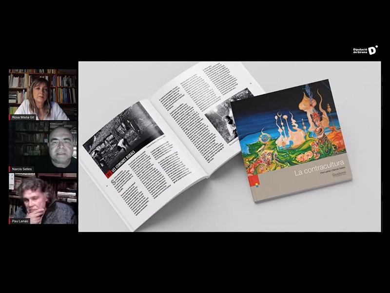 Foto : Les llums i ombres de la contracultura centren el debat virtual a l'entorn de l'última guia dels «Quaderns de la Revi