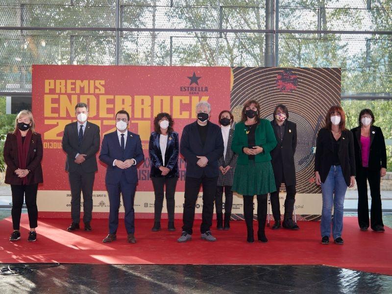 Foto : La Diputació de Girona, present en la nit dels Enderrock 2021